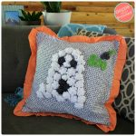 DIY Fleece Halloween Ghost Pillow