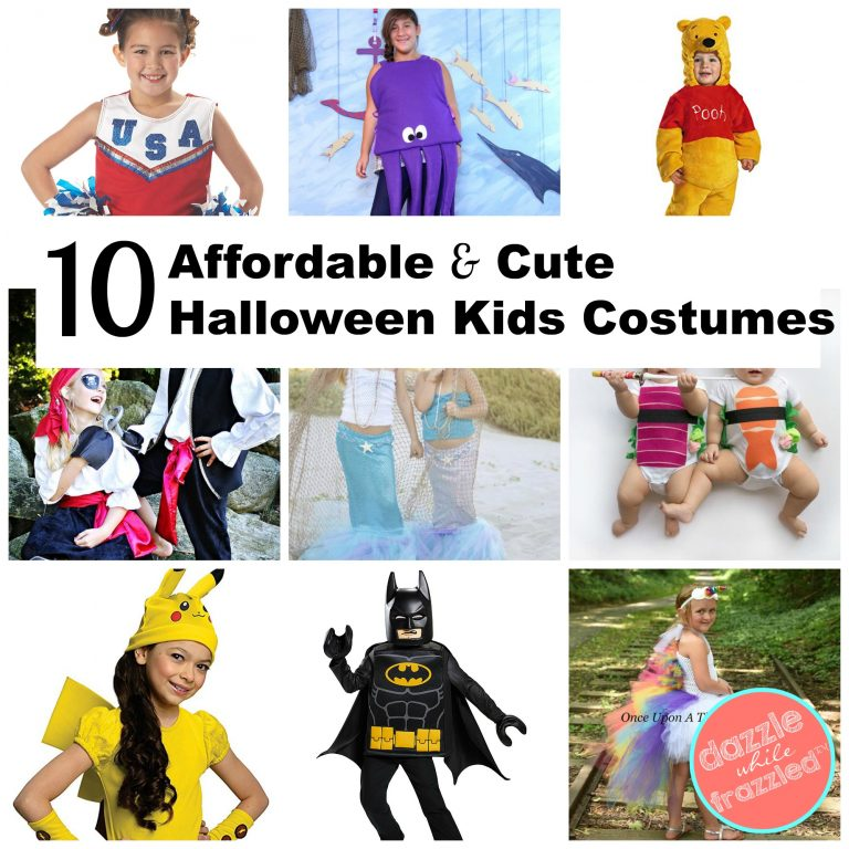 10 affordably cute kids Halloween costumes you can buy on Amazon and Etsy.