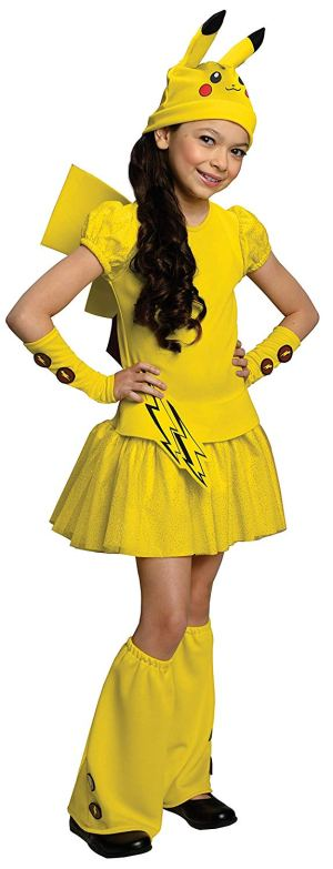 Pokemon Girl Pikachu Halloween Costumes on Amazon