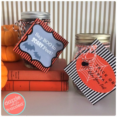 Make an easy beauty Halloween gift for friends and teacher appreciation | DazzleWhileFrazzled.com