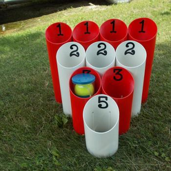 10 insanely fun games for family Pipe Ball Yard Outdoor Game