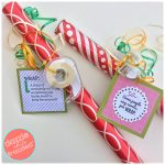 DIY Wrapping Paper Gift with Printable Gift Tags