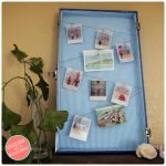 Easy Fun Photo Wall with Old Vintage Suitcase