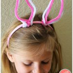 DIY Bunny Ears from Dollar Tree Pipe Cleaners