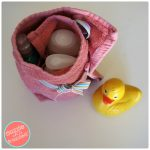 How to Make a Bath Products Travel Organizer with Towel