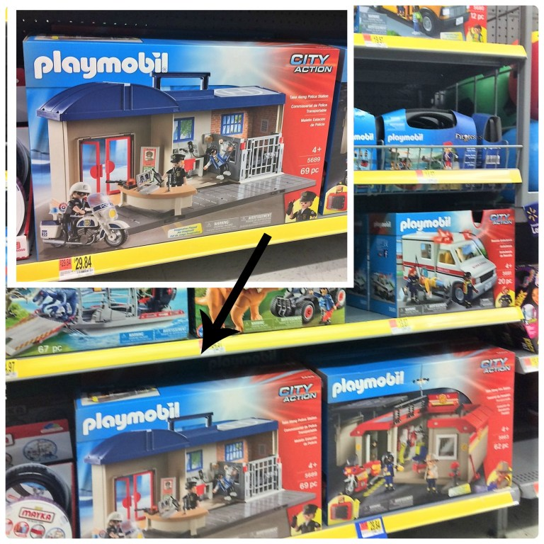 Buy PLAYMOBIL Take Along Police Station at Walmart and find more #PlaywithPlaymobil inspiration.