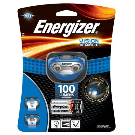 Buy Energizer Vision HD+ LED Headlamp at Walmart for most useful range of lightweight and versatile lighting products designed especially for those tasks that require two hands.