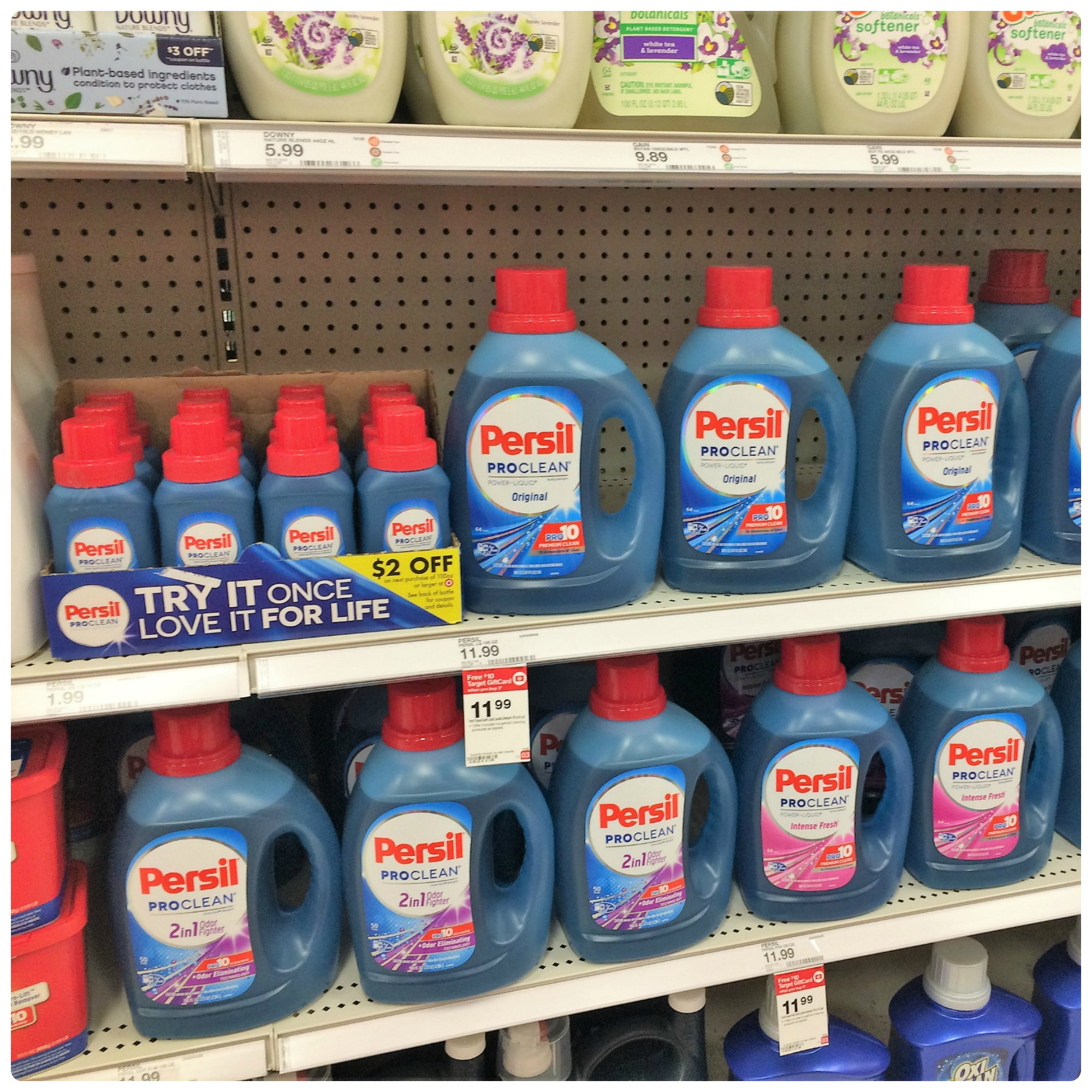 Persil Pro Clean laundry detergent at Target