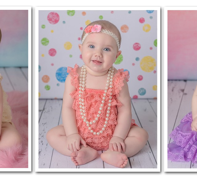 Makenna is 6 Months | Baby Photography | Round Rock, TX | Dazzling Light Photography