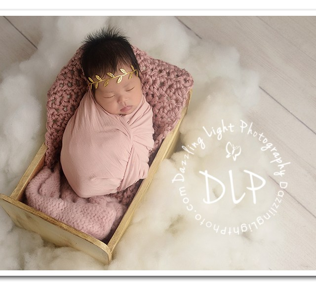 Introducing Baby Athena | Newborn Baby Photography | Dazzling Light Photography | Round Rock, TX