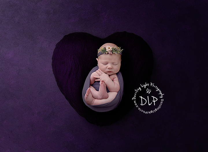 Newborn Session Dazzling Light Photography