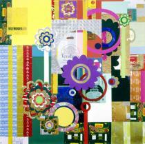 Beatriz Milhazes, Bala de Leite, 2005; Courtesy Galerie Max Hetzler, Berlin