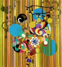 Beatriz Milhazes, Sul da América, 2002; Courtesy Galerie Max Hetzler, Berlin