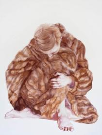 Maria Nordin, BITING, 2010. Courtesy of Galleri Magnus Karlsson. Frieze London