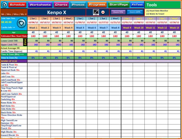 Training Spreadsheet Worksheet Templates For Teachers