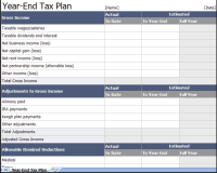 Tax Return Spreadsheet Template Spreadsheet Templates for ...