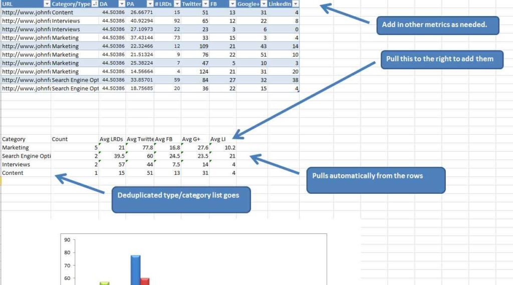 Marketing Spreadsheet Template Marketing Spreadsheet Template ...
