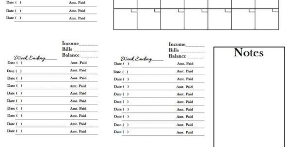 Monthly Bill Spreadsheet Template Monthly Spreadsheet