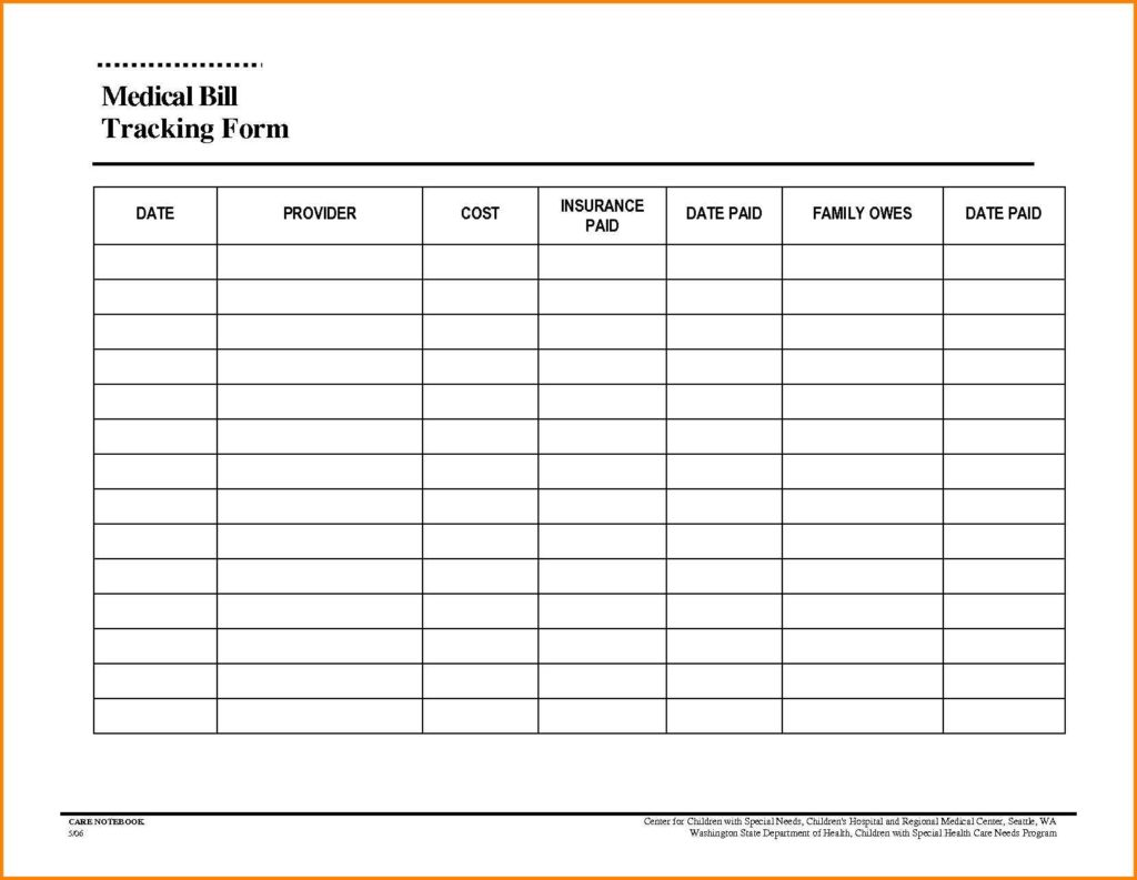 Printable Monthly Budget Planner Template Monthly Bills