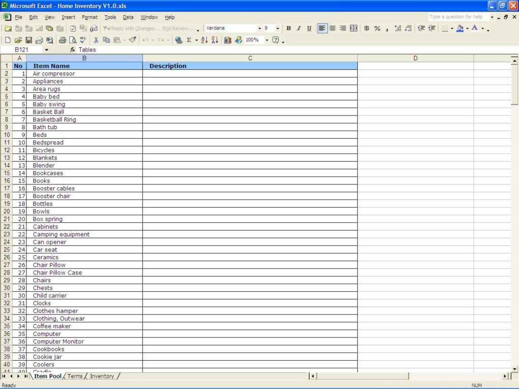 16 Liquor Inventory Templates Free Sample Example Format