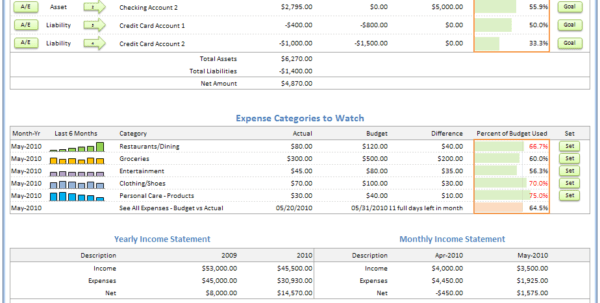 Basic Accounting Spreadsheet Excel Excel Bookkeeping Spreadsheet ...