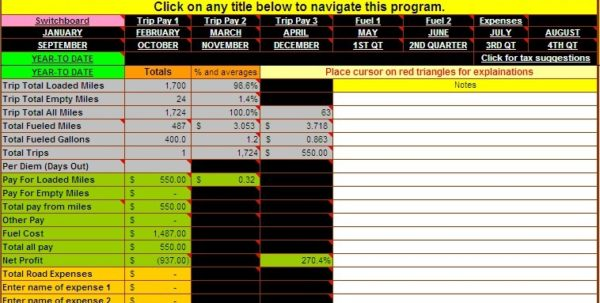 Simple Business Spreadsheet Accounting Examples Of Bookkeeping ...