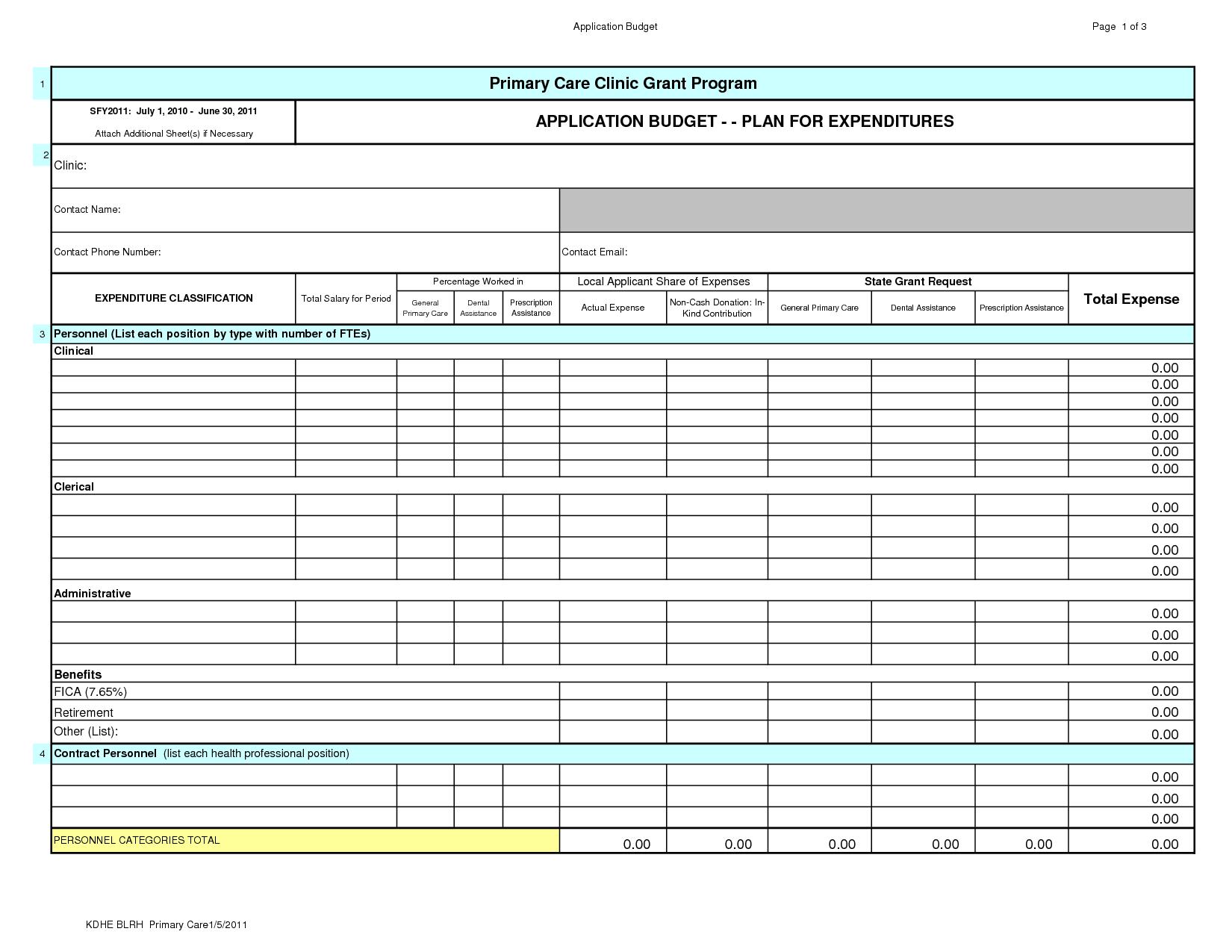 Personal Finance Spreadsheet Template Spreadsheet
