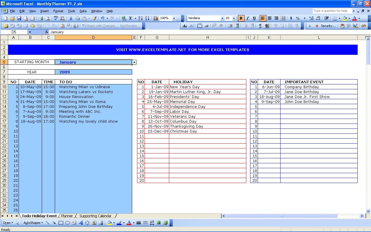 Task Spreadsheet Template Db Excel