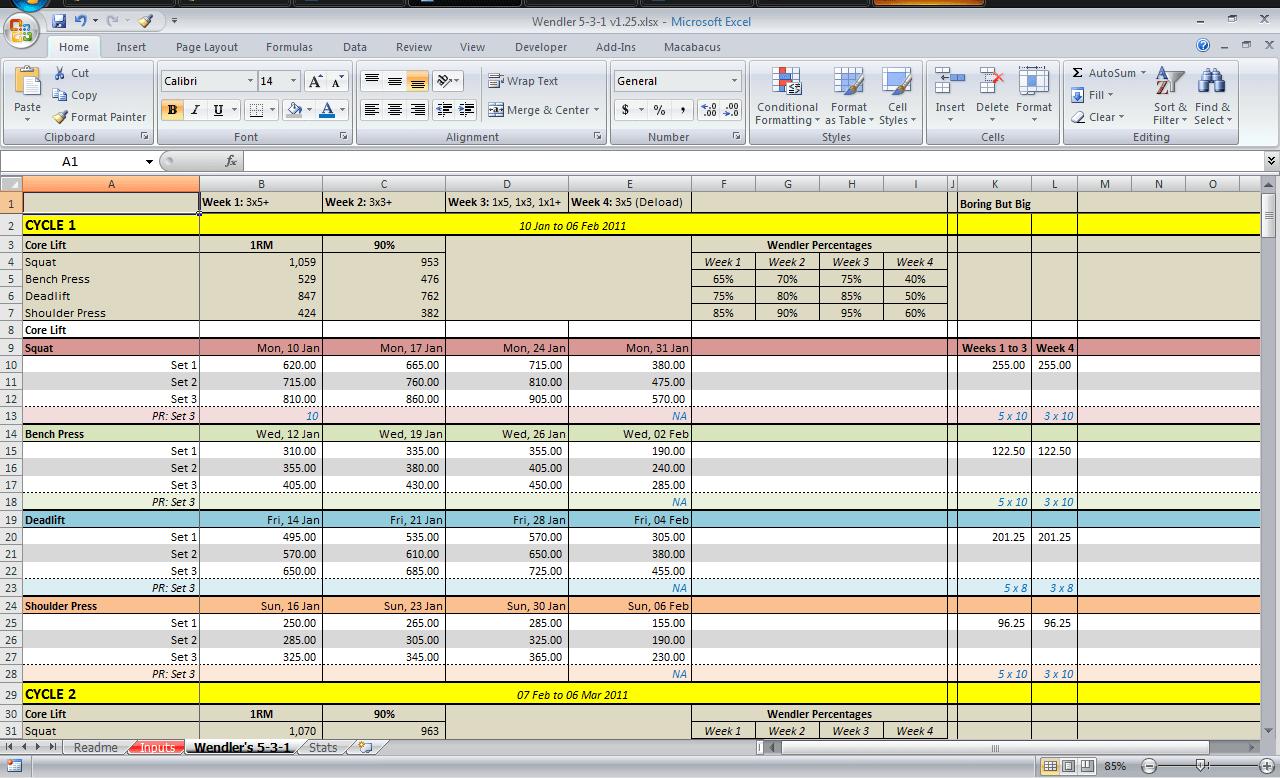 Employee Attendance Tracker Excel Template Training