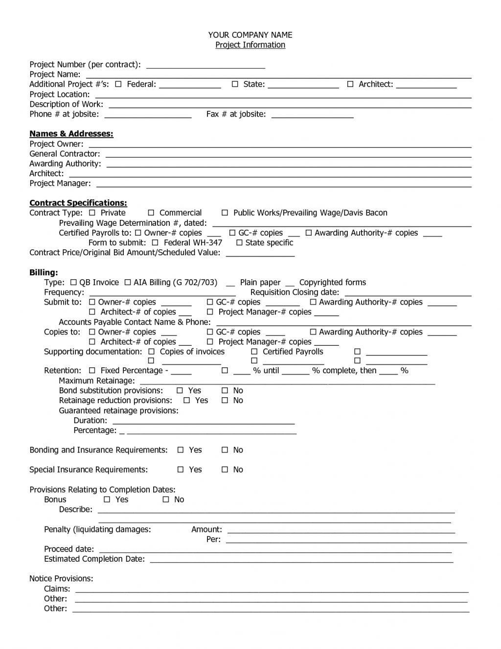 Bookkeeping Contract Template 14