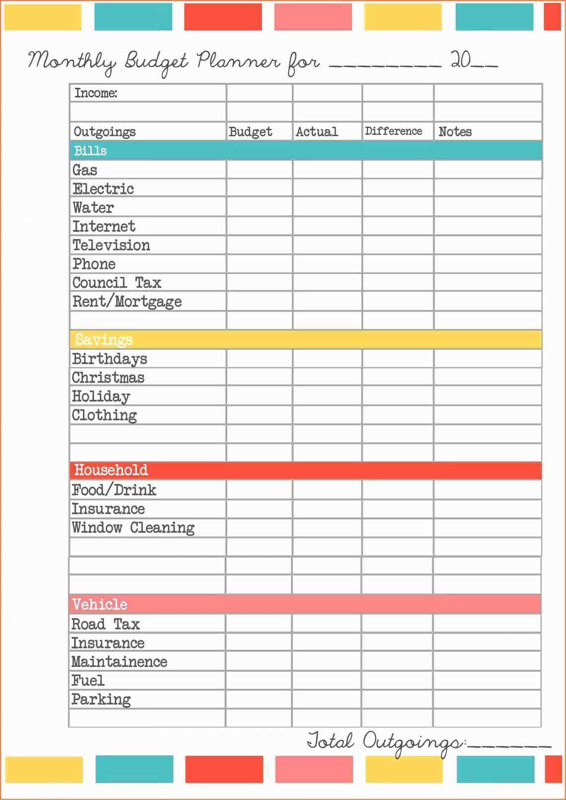 Church Accounting Spreadsheet Templates 50 Fresh Free