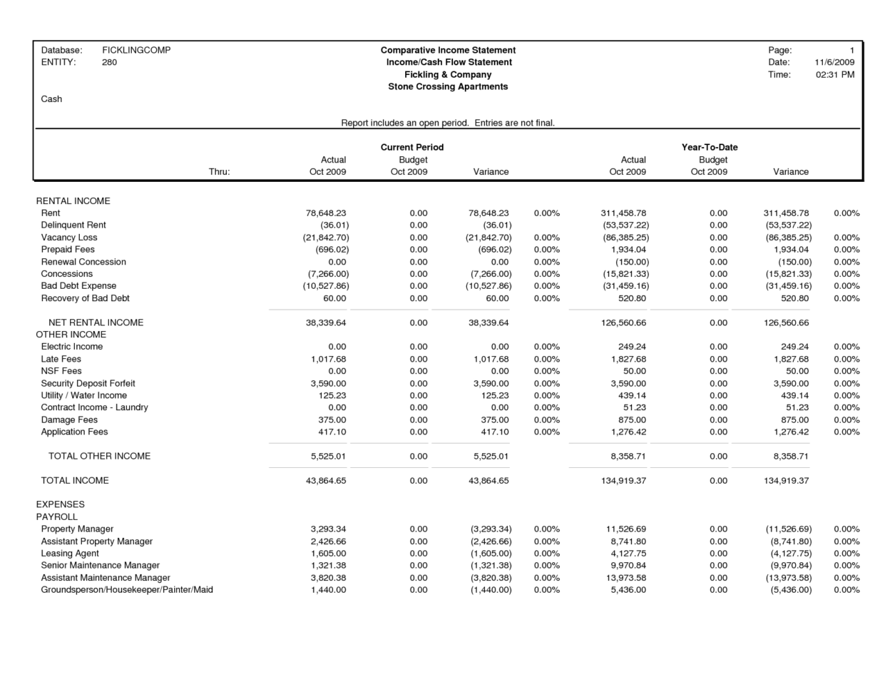 Comparative Income Statement Template Best Template Collection To Income Statement Generator