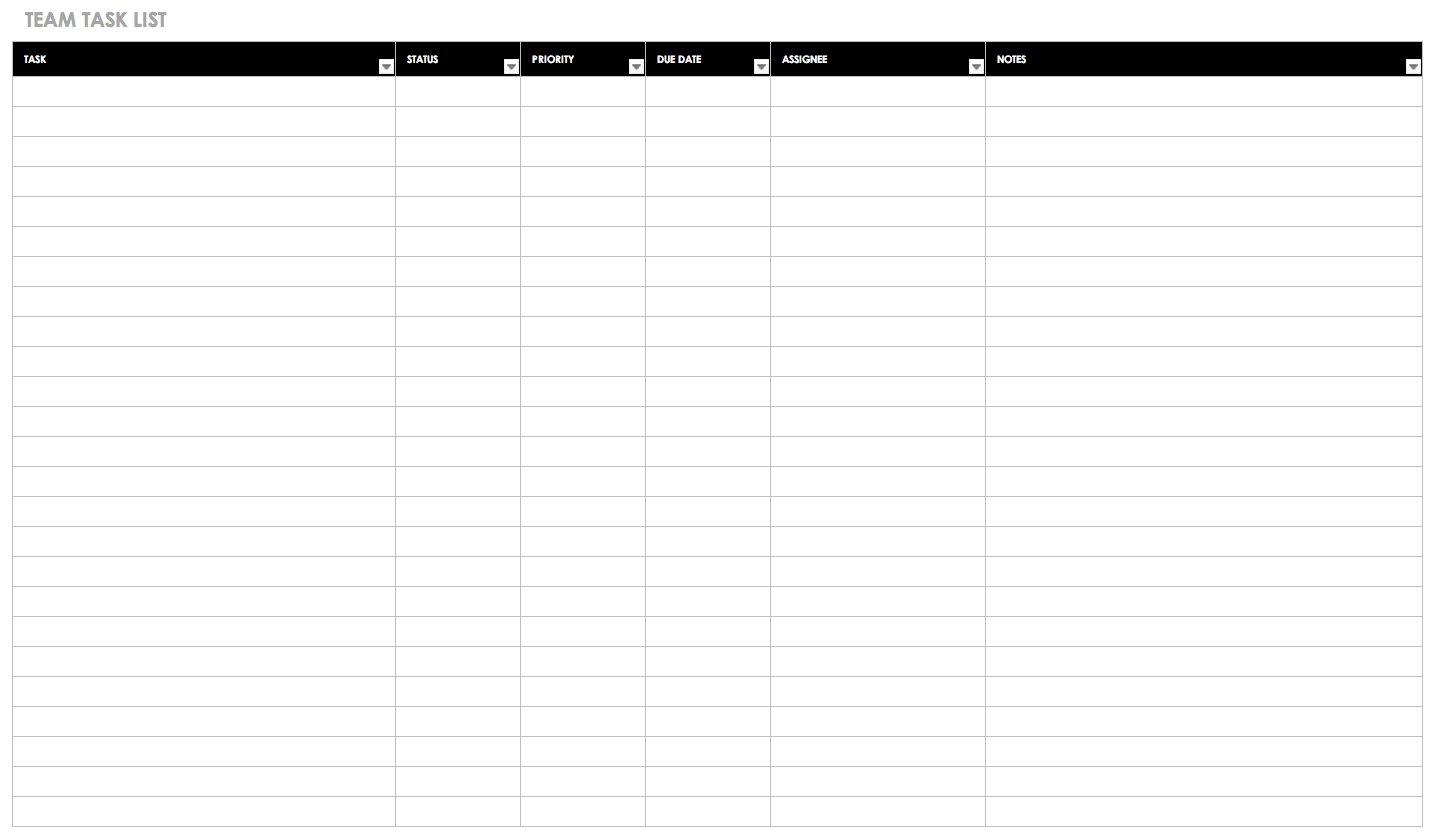 Gantt Chart Template Example Of Spreadshee Free Gantt