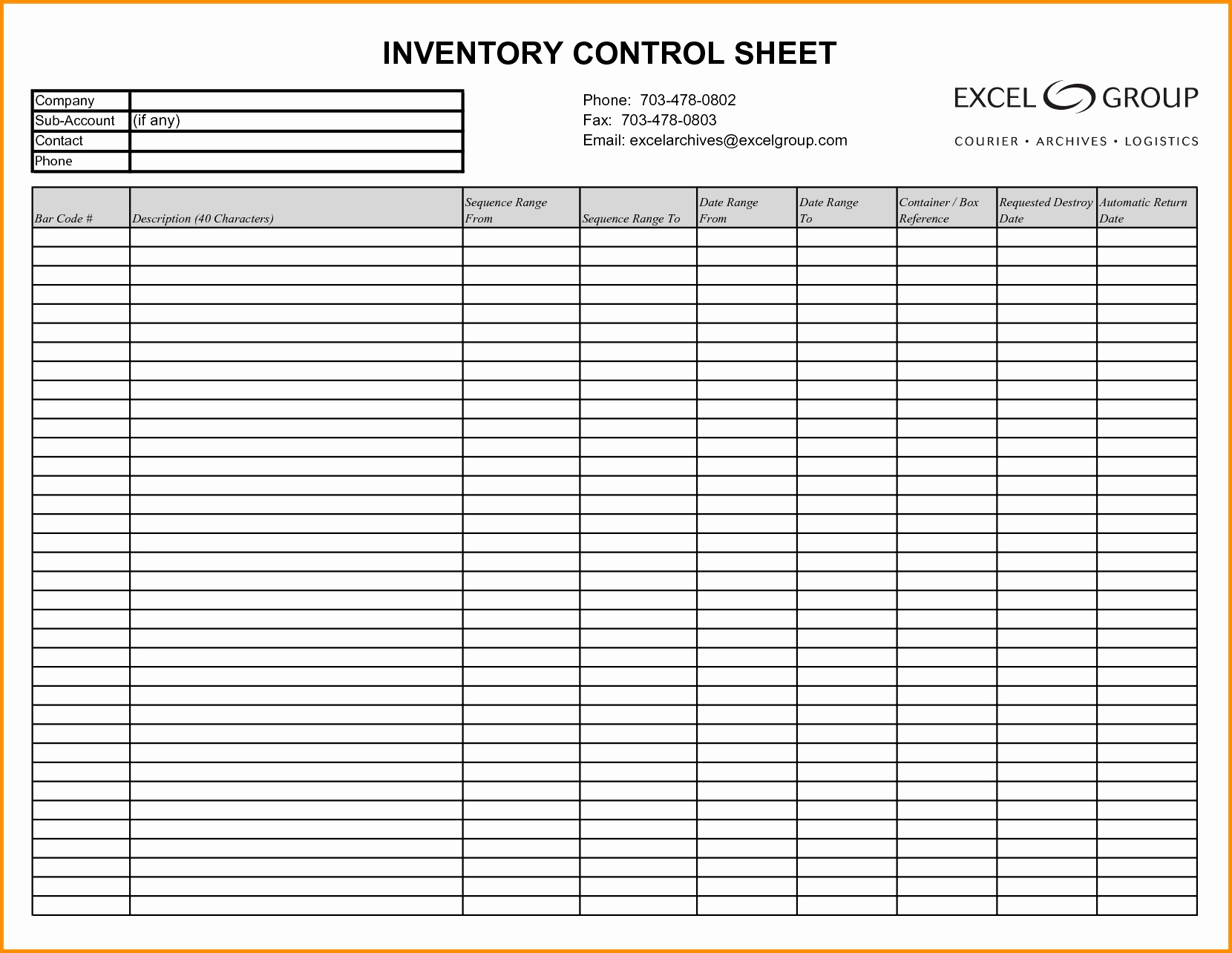 Household Inventory Spreadsheet For Ebay Inventory