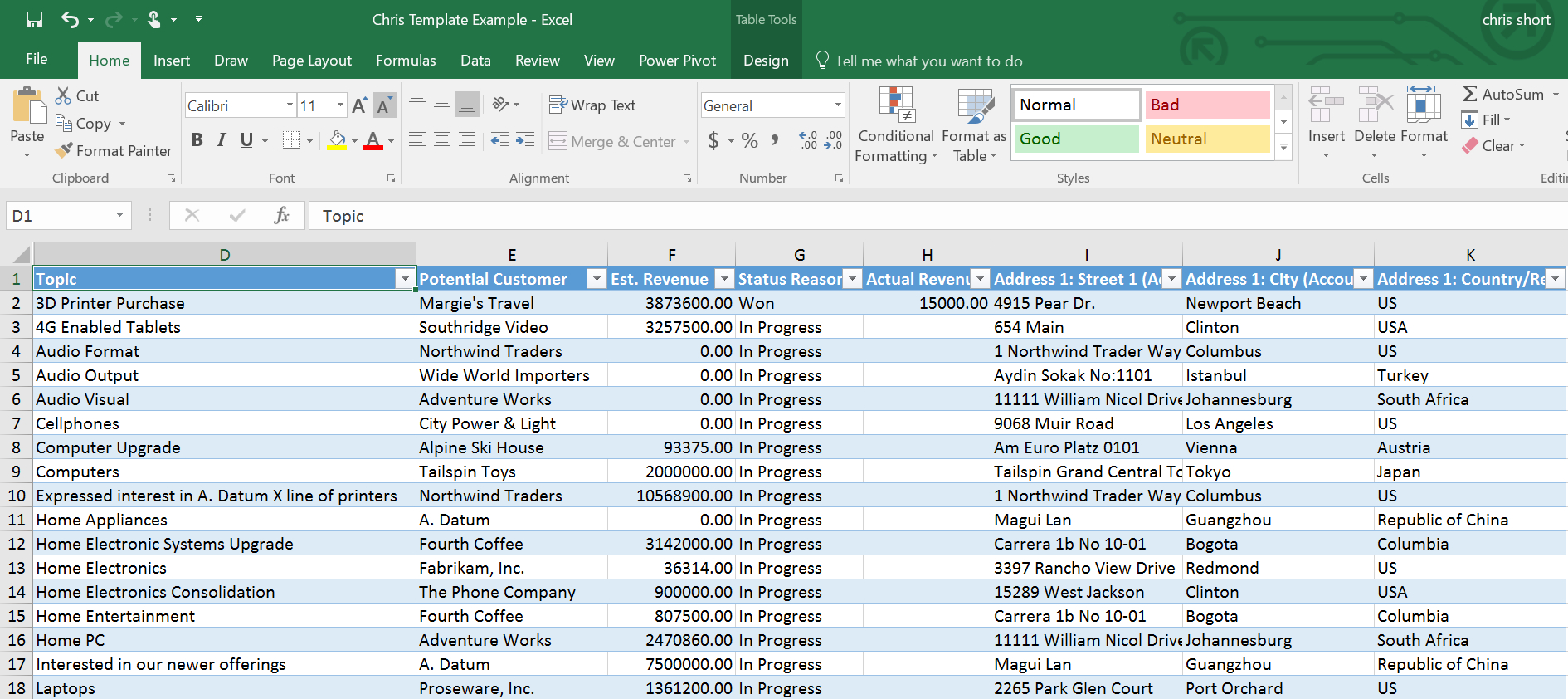Excel Crm Template Format Example Of Spreadshee Excel Crm