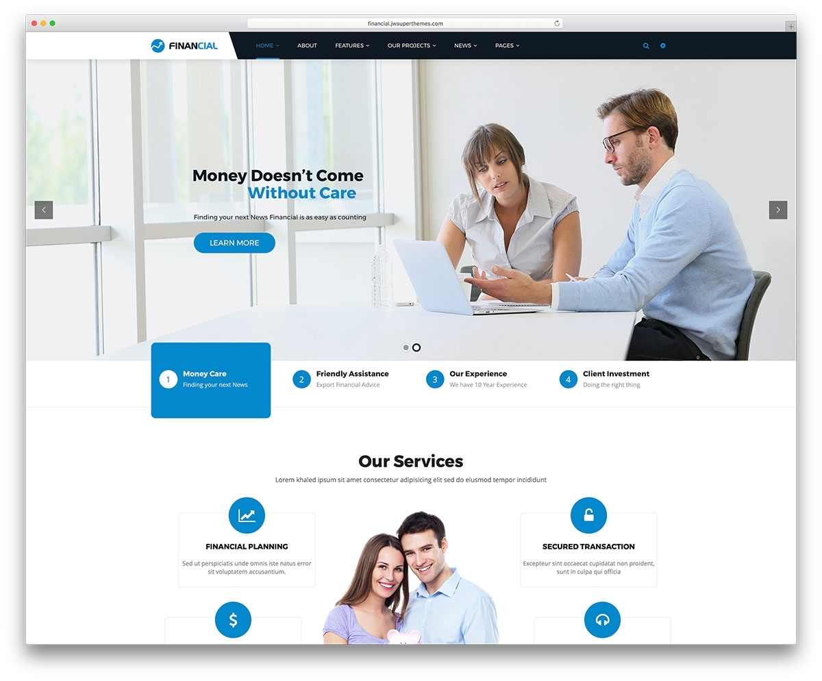 17 Best Financial Company Wordpress Themes Colorlib