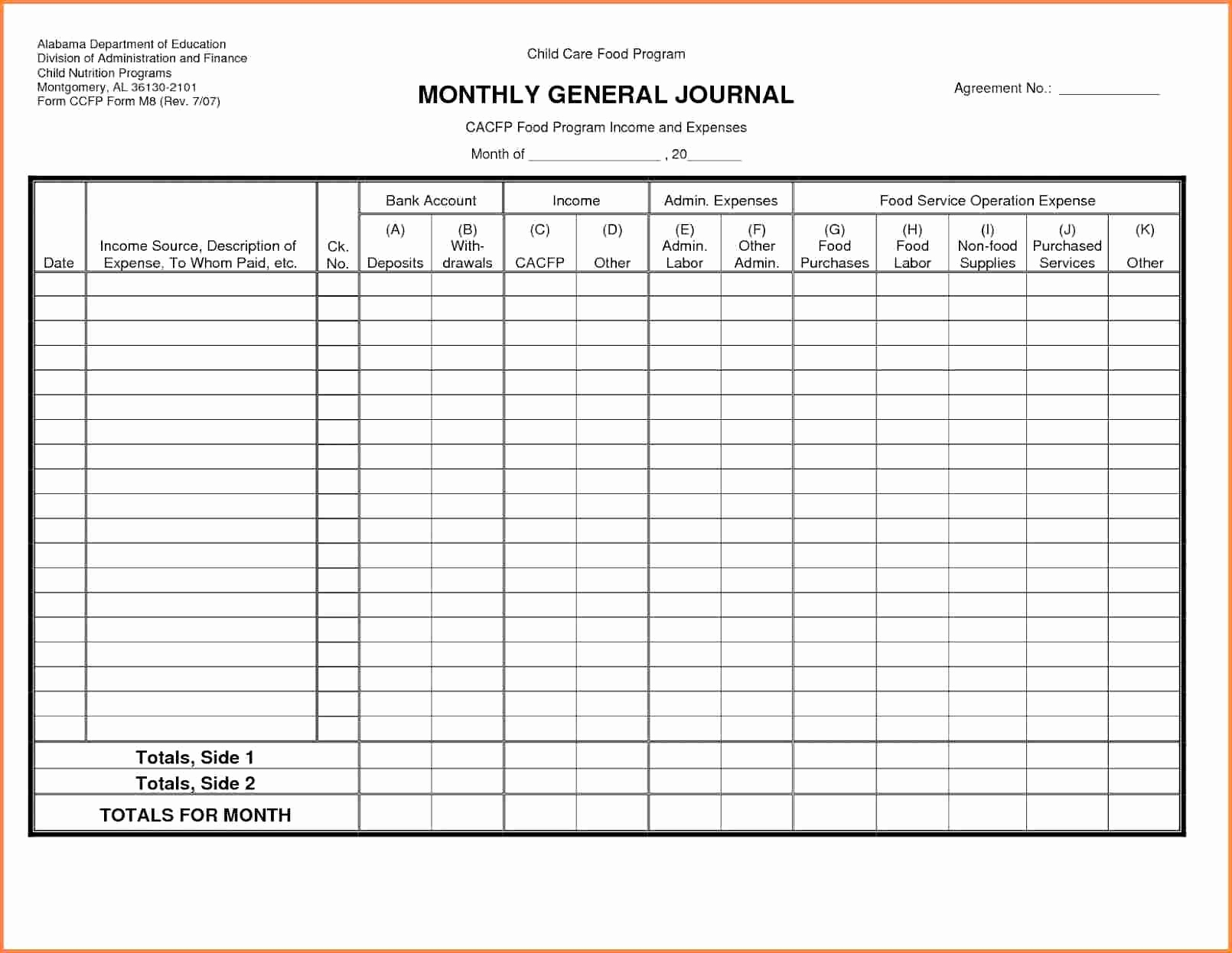 Accounts Payable Ledger Template In Excel Format Free