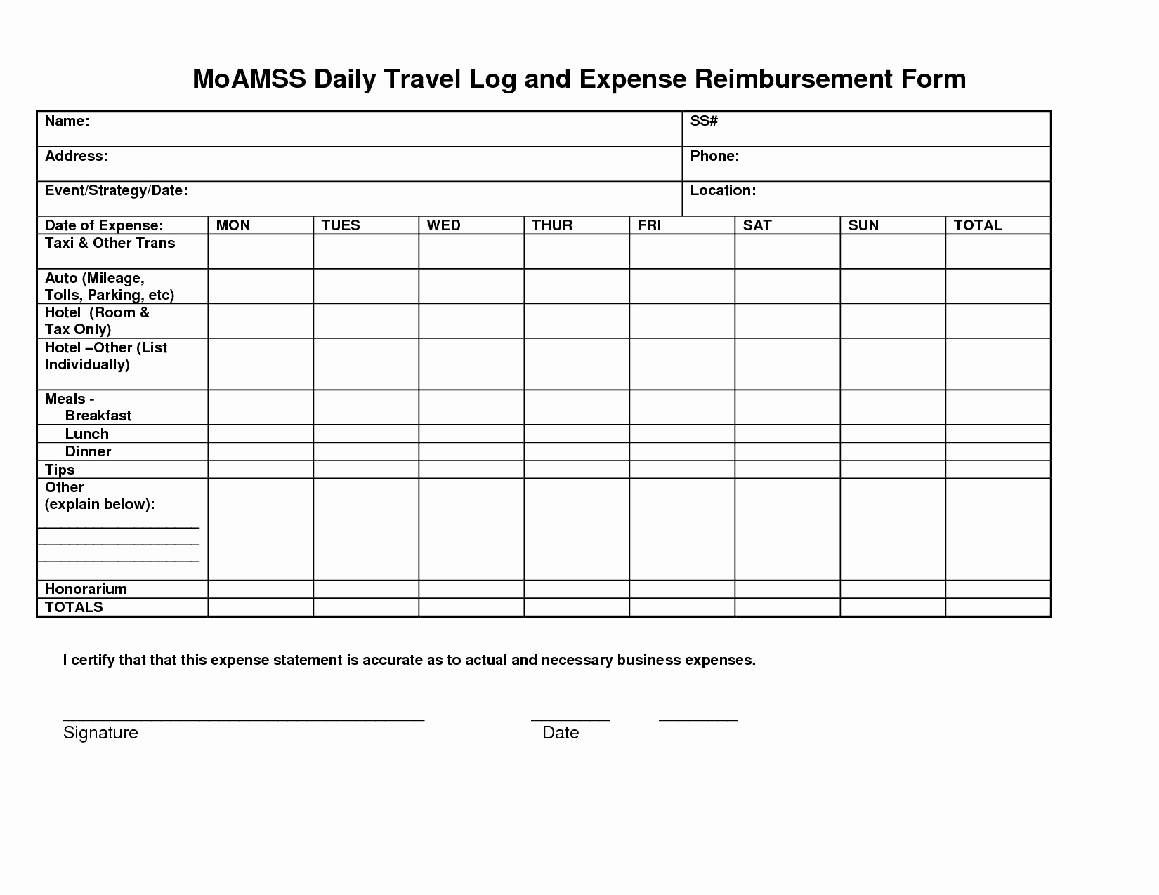 Business Trip Expenses Template Business Spreadshee Business Trip Cost Estimate Template