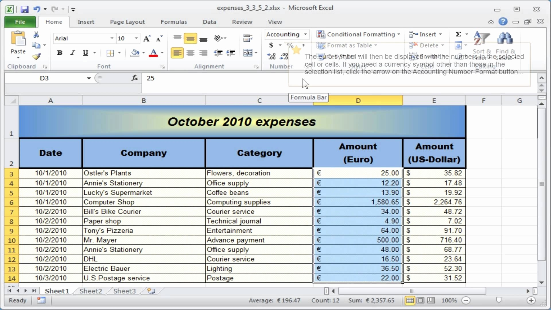 Free Accounting Worksheet Excel New Excel Accounting