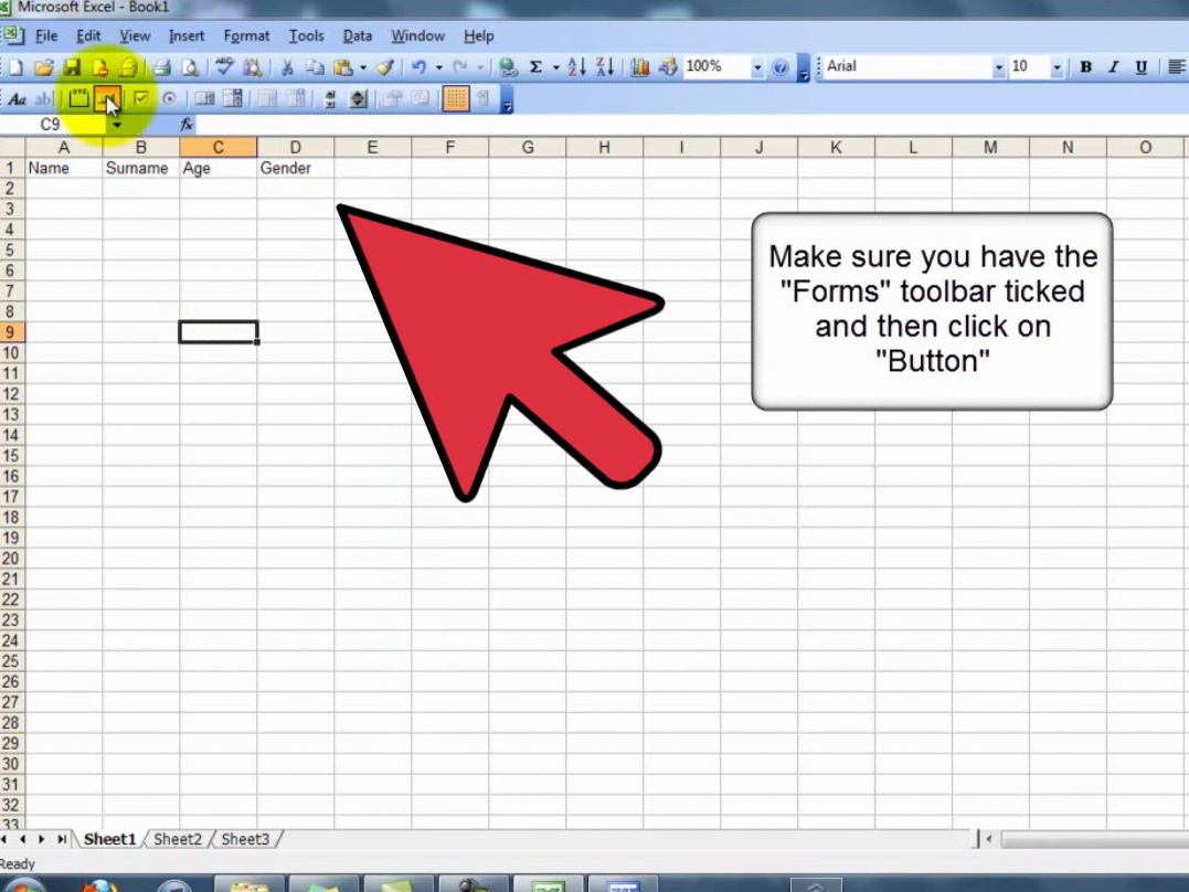 How To Create A Userform In A Spreadsheet 13 Steps With