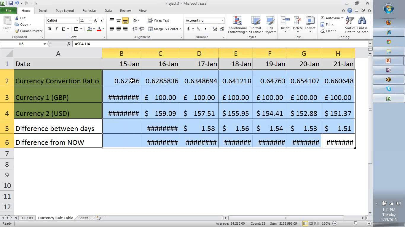 Microsoft Excel Accounting Formulas Download With