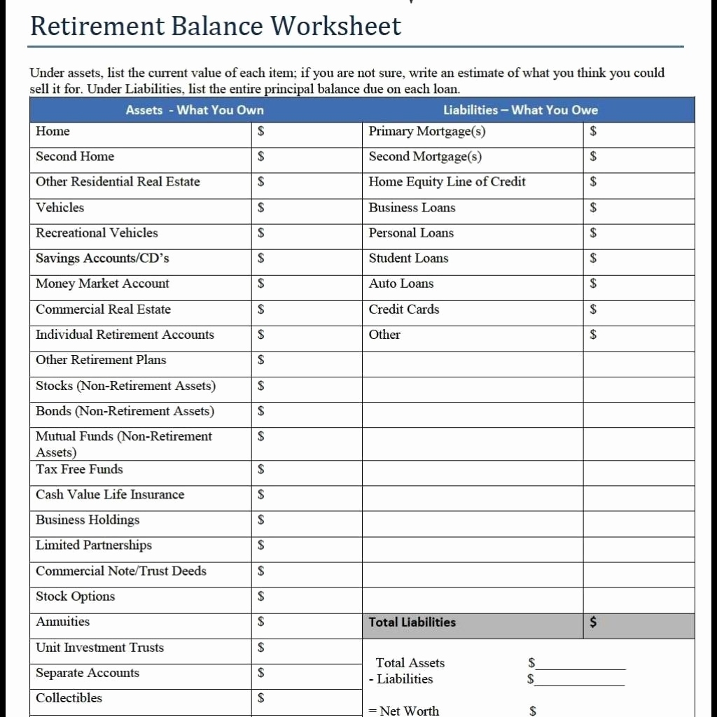Retirement Income Planning Spreadsheet Elegant Retirement