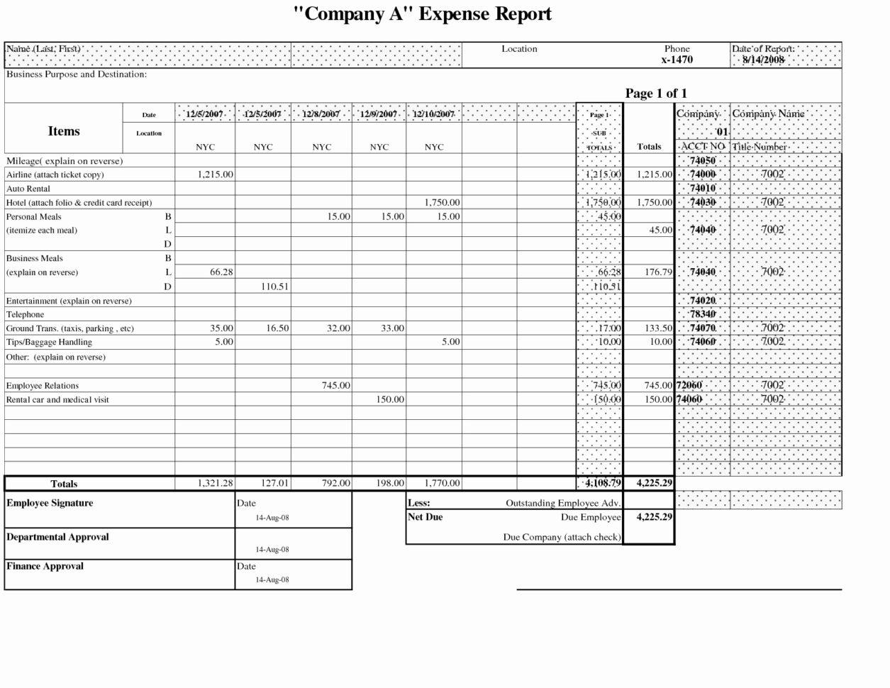 Truck Driver Expense Spreadsheet Spreadsheet Softwar Truck