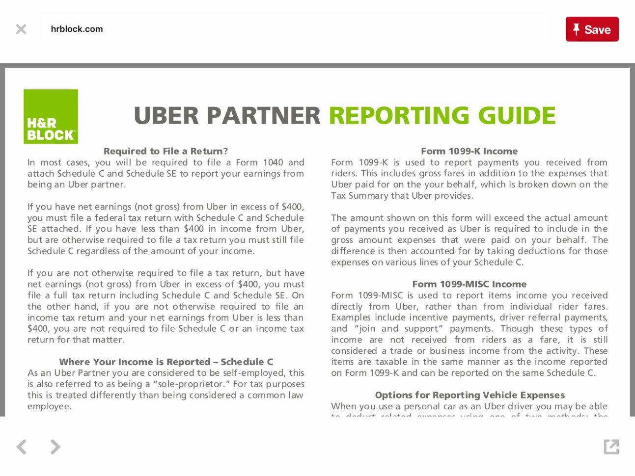 Expense Spreadsheet For Uber Driver Spreadsheet