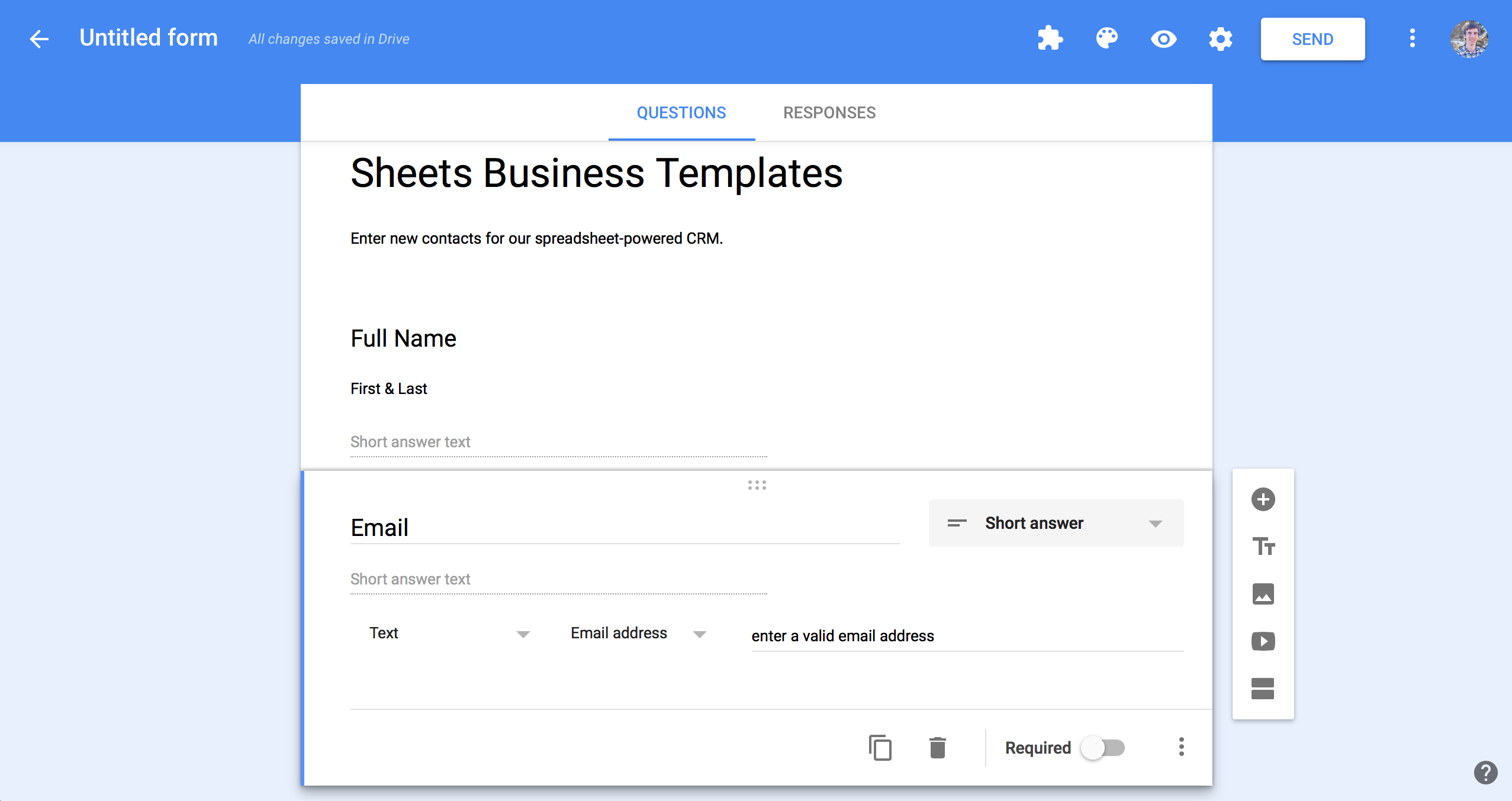 Address Spreadsheet Template For Spreadsheet Crm How To
