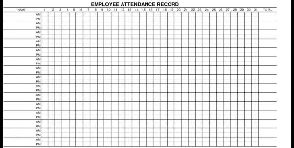 Attendance Spreadsheet Template Excel Spreadsheet Downloa