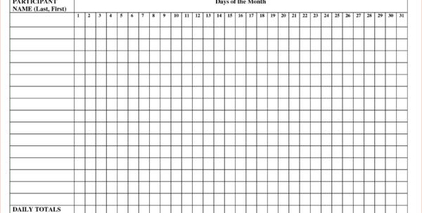 Attendance Tracking Spreadsheet Template Spreadsheet