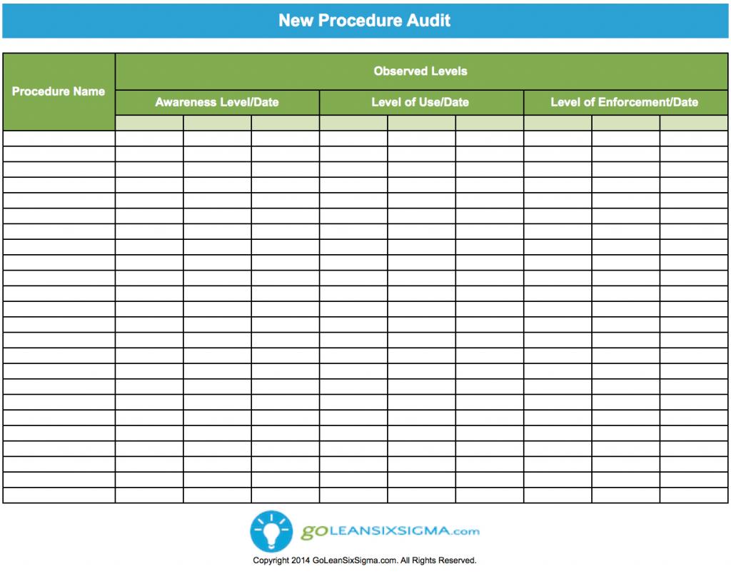 Audit Spreadsheet Templates Spreadshee Audit
