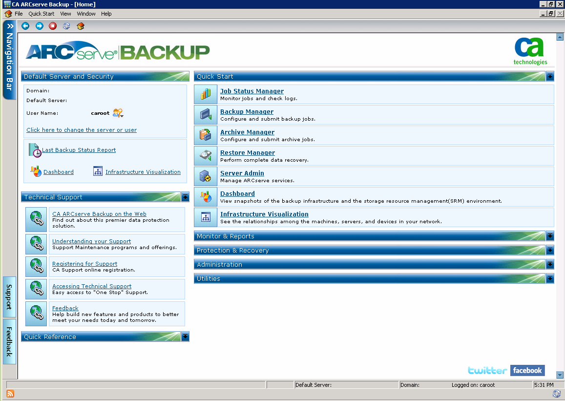 Backup Tape Rotation Spreadsheet Within Arcserve Backup