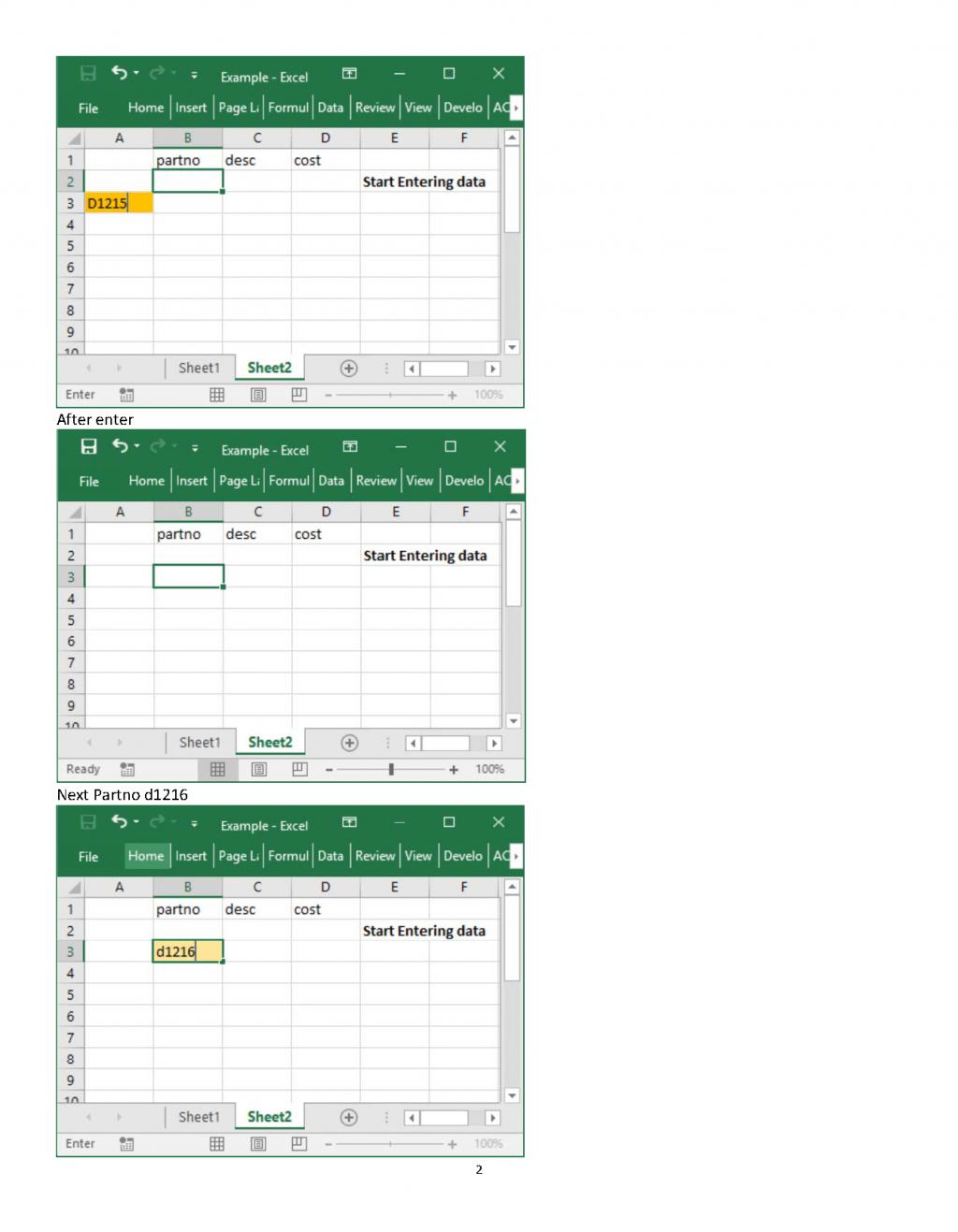 Barrel Racing Excel Spreadsheet